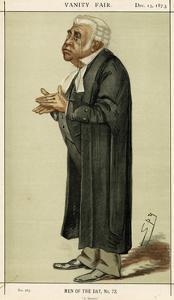 John Humffreys Parry by Leslie Ward