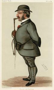 Leopold de Rothschild by Leslie Ward