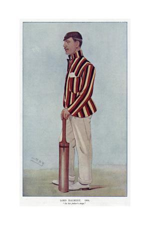 Lord Dalmeny, Cricketer