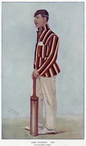 Lord Dalmeny, Cricketer by Leslie Ward