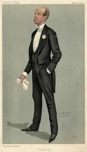 Lord Elcho, Vanity Fair by Leslie Ward
