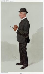 Lounge Suit 1908 by Leslie Ward