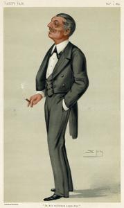 Montagu Williams by Leslie Ward