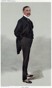 Oliver R. H.Bury, Vanity Fair by Leslie Ward