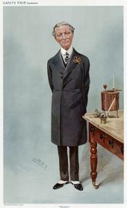 Sir Boverton Redwood by Leslie Ward