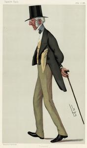 Sir Charles Cox, Vanity Fair by Leslie Ward