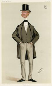 Sir John Ramsden by Leslie Ward