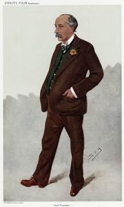 Sir Robert Edgcumbe, Vanity Fair by Leslie Ward