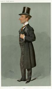 Sir Samuel Thomas Evans, Vanity Fair by Leslie Ward