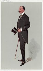 Teck, Alexander, VF 1908 by Leslie Ward