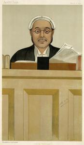 The Rt Hon Sir C. S. C. Bowen, Vanity Fair by Leslie Ward
