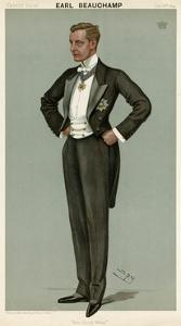 William Lygon, Vanity Fair by Leslie Ward