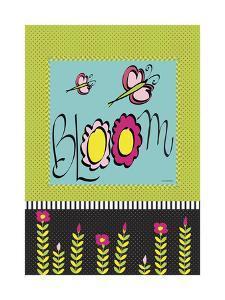 Bloom Flag by Leslie Wing