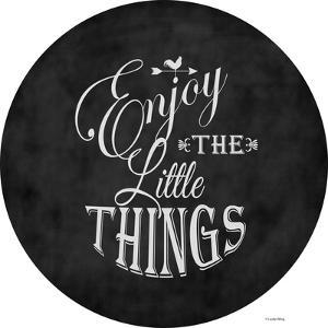 Enjoy the Little Things by Leslie Wing