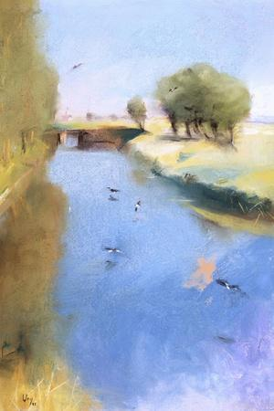 Landscape with a Canal. 1897