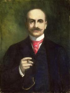 Portrait of the Artist by Lesser Ury