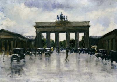 The Brandenburg Gate by Lesser Ury