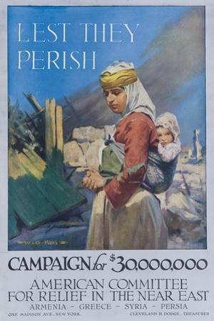 Lest They Perish Poster