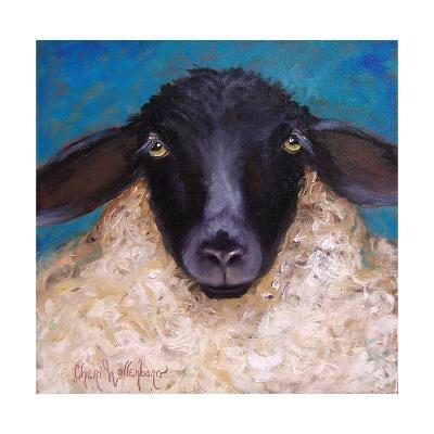 Lester the Lamb-Cheri Wollenberg-Art Print