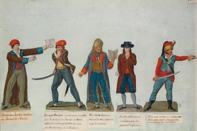 Jacobins and Terrorists at the Period of the Reign of Terror (1793-4) During the French Revolution
