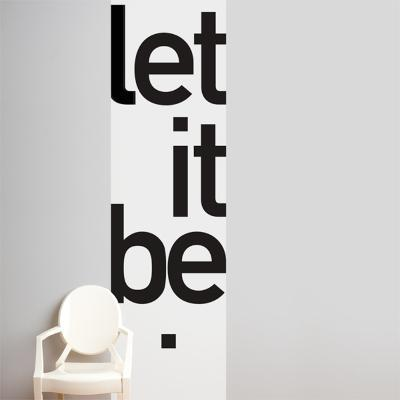 Let it be  Wall Decal--Wall Decal