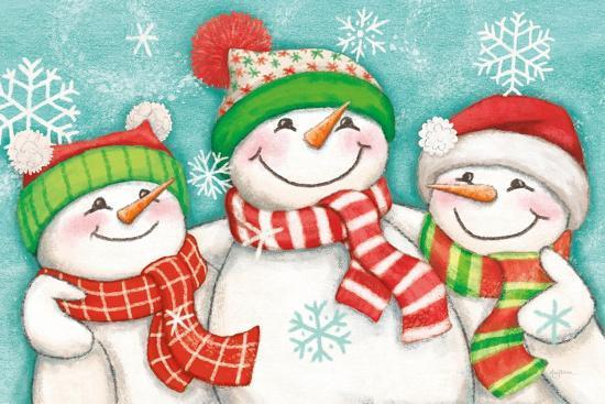 Let it Snow III Eyes Open-Mary Urban-Art Print
