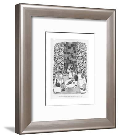 """""""Let OPEC tighten the screws. The Larned A. Corys are ready."""" - New Yorker Cartoon-Joseph Farris-Framed Premium Giclee Print"""
