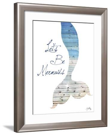 Let's Be Mermaids-Elizabeth Medley-Framed Art Print
