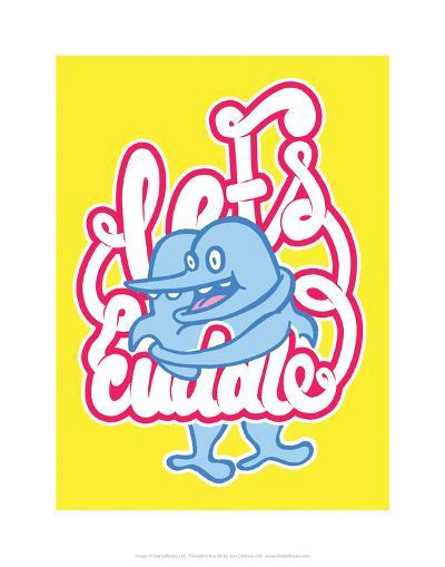 Let's Cuddle - Tommy Human Cartoon Print-Tommy Human-Art Print