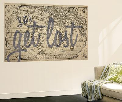 Let's Get Lost - 1562, World Map--Wall Mural