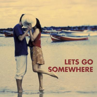 Let's Go Somewhere-Michele Westmorland-Art Print
