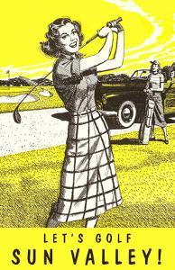 Let's Golf Sun Valley, Idaho