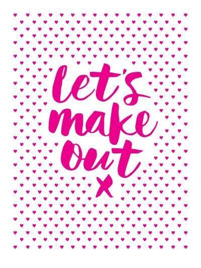 Let's Make Out-Brett Wilson-Art Print