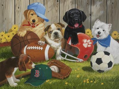Let's Play Ball-William Vanderdasson-Giclee Print