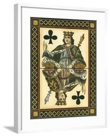 Let's Play Cards I--Framed Art Print