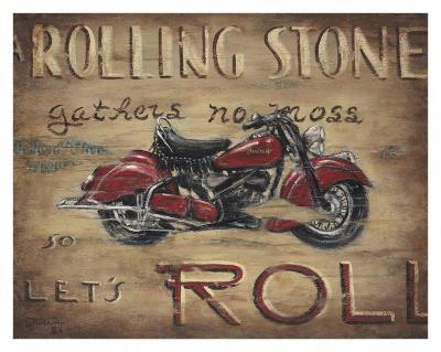 Let's Roll-Janet Kruskamp-Art Print
