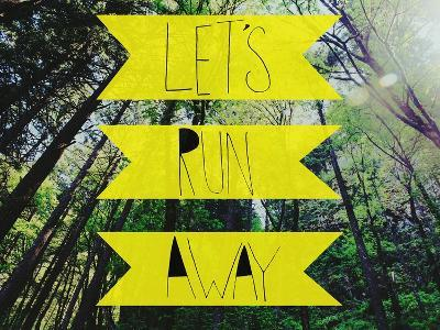 Let's Run Away-Leah Flores-Giclee Print