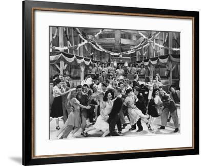 Let's Swing--Framed Photo
