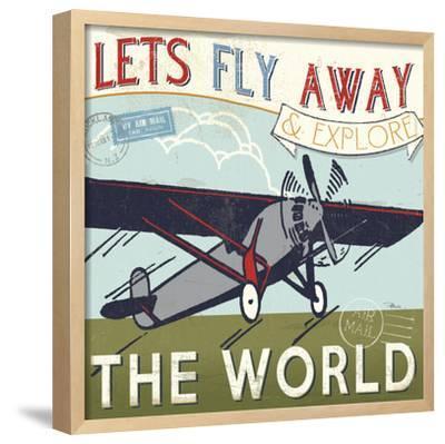 Let's Travel II-Pela Design-Framed Art Print