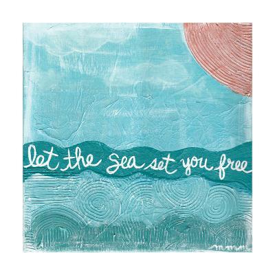 Let The Sea-Monica Martin-Art Print