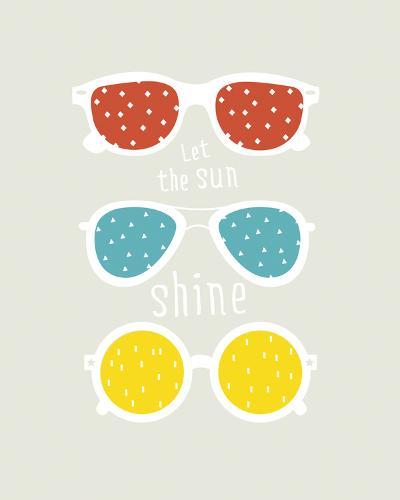 Let the Sun Shine--Giclee Print