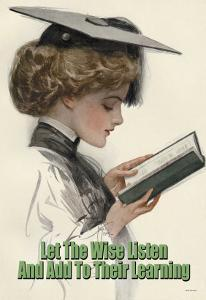 Let the Wise Listen and Add to Their Learning