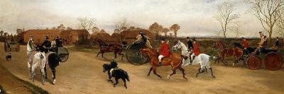 Let Us Join the Glad Throng That Goes Laughing Along, and We'Ll All Go a Hunting Today-Sylvester Martin-Giclee Print