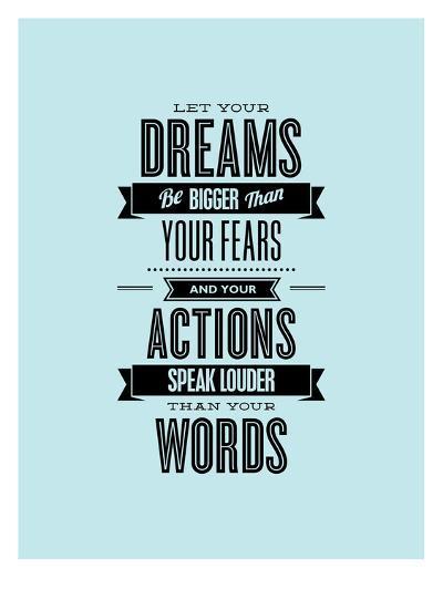 Let Your Dreams Be Bigger-Brett Wilson-Art Print
