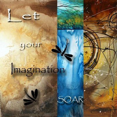 Let Your Imagination Soar-Megan Aroon Duncanson-Art Print