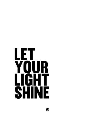 Let Your Lite Shine 1-NaxArt-Art Print
