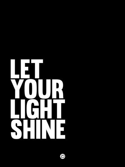 Let Your Lite Shine 2-NaxArt-Art Print