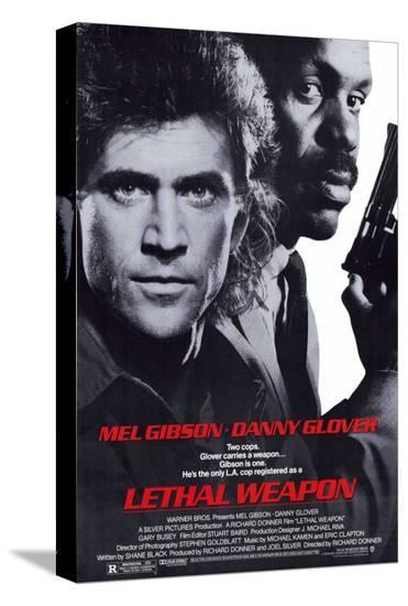Lethal Weapon--Stretched Canvas Print