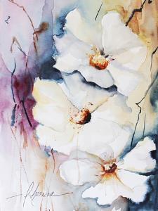 Blooms Aquas I by Leticia Herrera