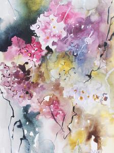 Blooms Aquas III by Leticia Herrera